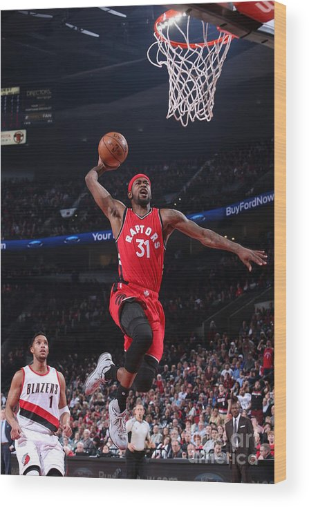 Nba Pro Basketball Wood Print featuring the photograph Terrence Ross by Sam Forencich