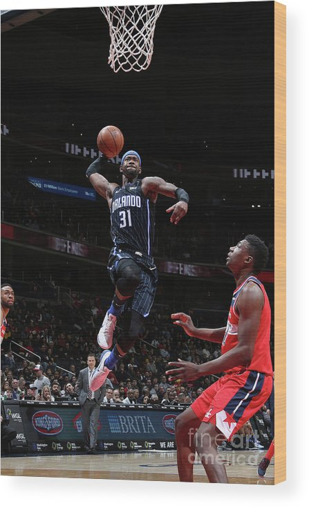 Nba Pro Basketball Wood Print featuring the photograph Terrence Ross by Stephen Gosling
