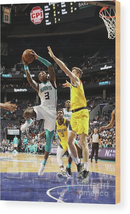 Nba Pro Basketball Wood Print featuring the photograph Terry Rozier by Brock Williams-smith