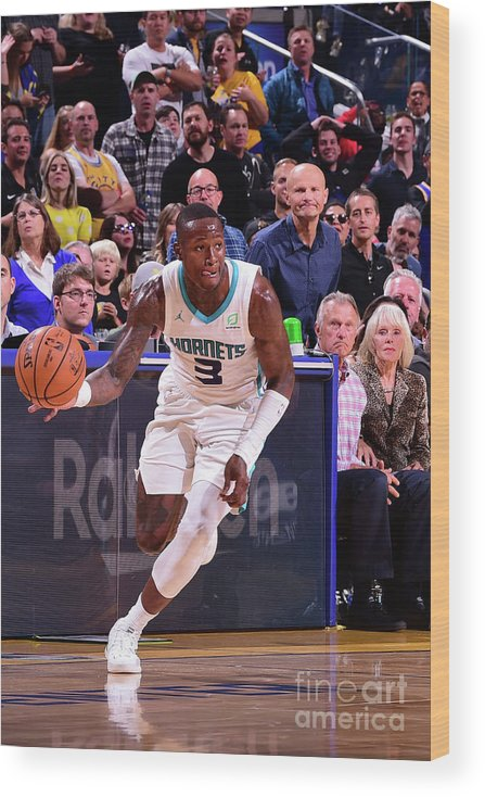 San Francisco Wood Print featuring the photograph Terry Rozier by Noah Graham