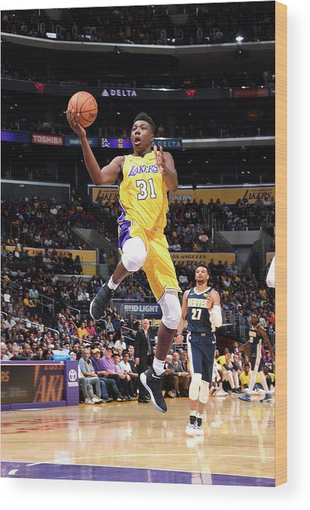 Nba Pro Basketball Wood Print featuring the photograph Thomas Bryant by Andrew D. Bernstein