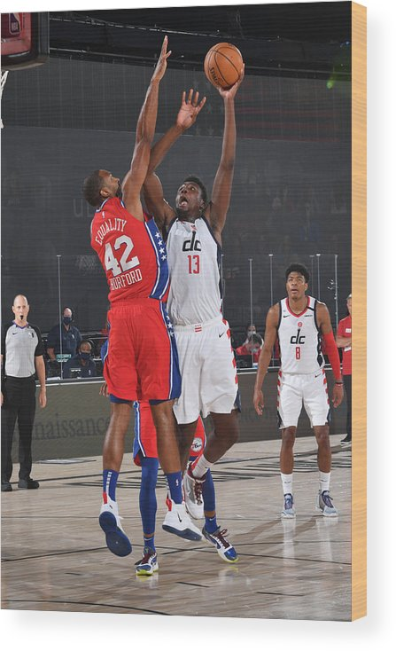 Nba Pro Basketball Wood Print featuring the photograph Thomas Bryant by Jesse D. Garrabrant