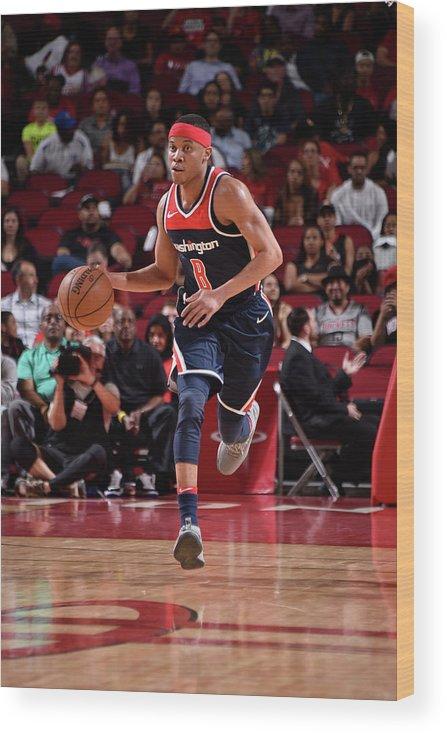 Nba Pro Basketball Wood Print featuring the photograph Tim Frazier by Bill Baptist