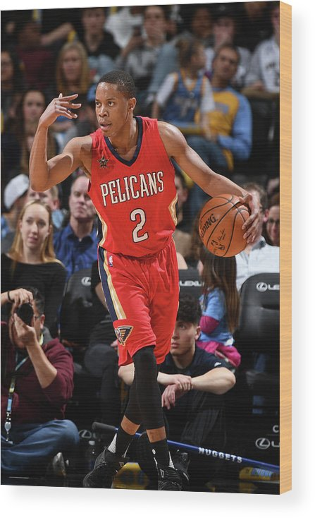 Nba Pro Basketball Wood Print featuring the photograph Tim Frazier by Garrett Ellwood