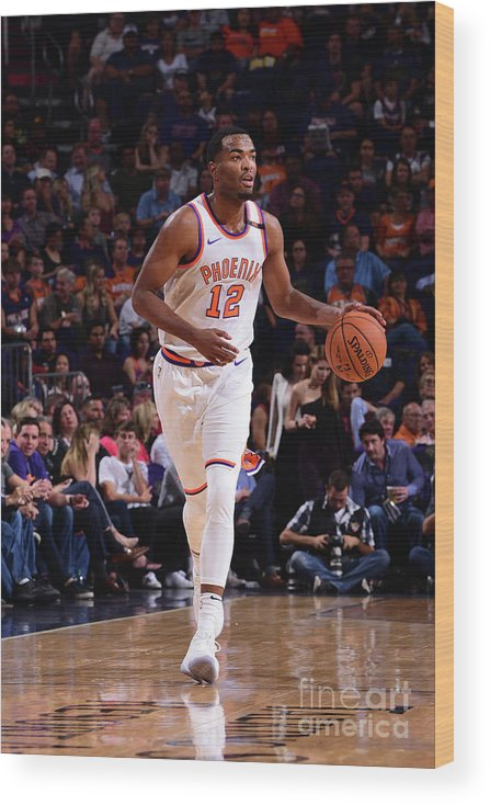 Nba Pro Basketball Wood Print featuring the photograph T.j. Warren by Michael Gonzales