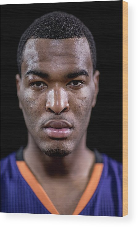 Nba Pro Basketball Wood Print featuring the photograph T.j. Warren by Nick Laham