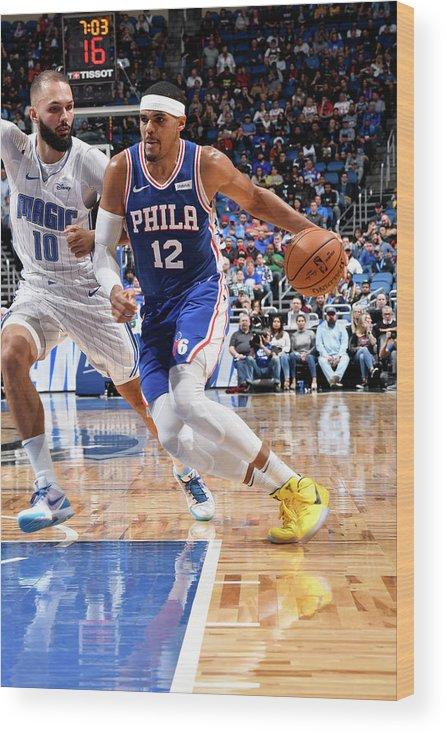 Nba Pro Basketball Wood Print featuring the photograph Tobias Harris by Fernando Medina
