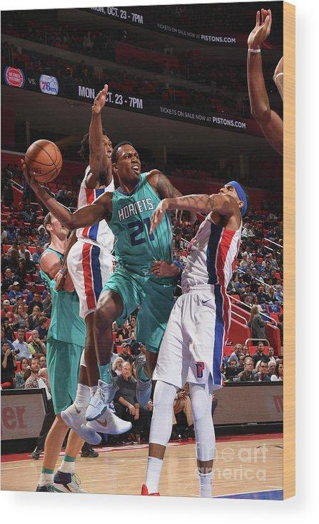 Nba Pro Basketball Wood Print featuring the photograph Treveon Graham by Chris Schwegler
