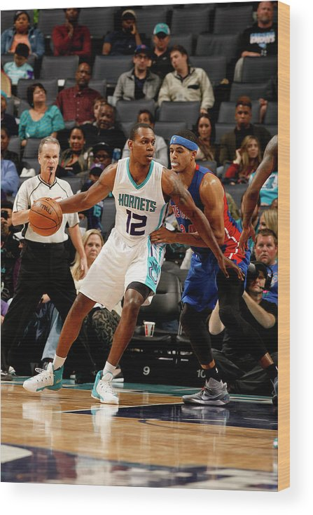 Nba Pro Basketball Wood Print featuring the photograph Treveon Graham by Kent Smith
