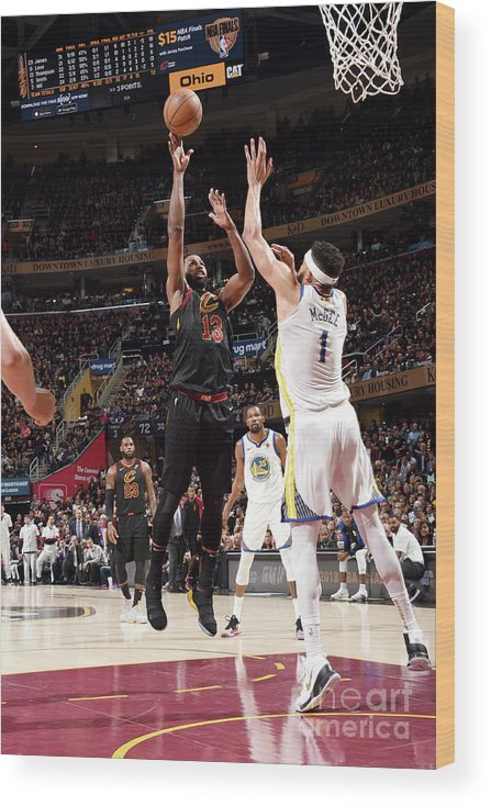 Playoffs Wood Print featuring the photograph Tristan Thompson by Andrew D. Bernstein