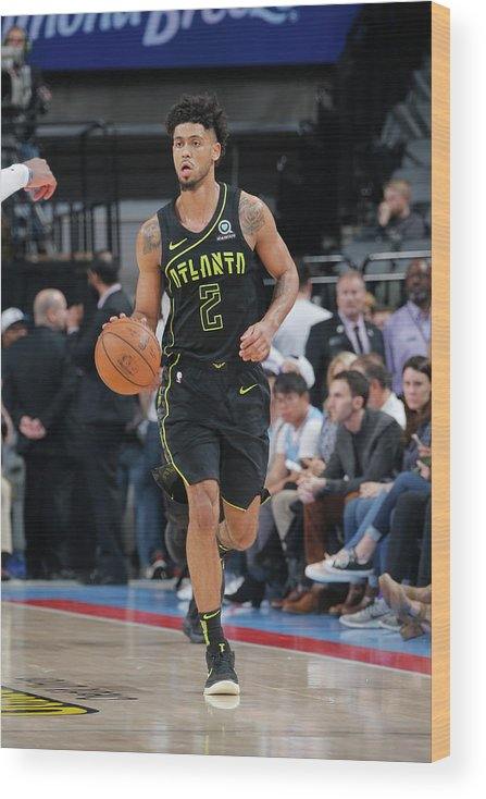 Nba Pro Basketball Wood Print featuring the photograph Tyler Dorsey by Rocky Widner