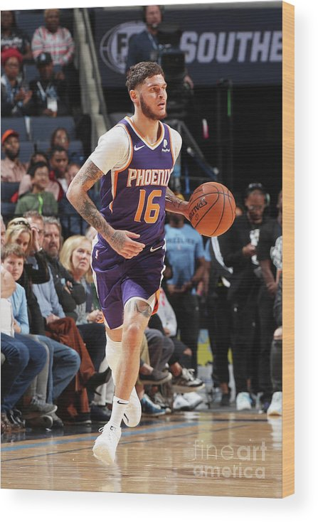 Nba Pro Basketball Wood Print featuring the photograph Tyler Johnson by Joe Murphy