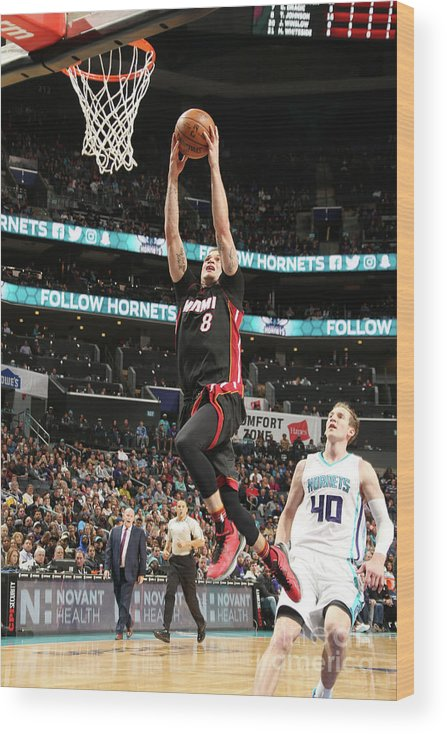 Nba Pro Basketball Wood Print featuring the photograph Tyler Johnson by Kent Smith