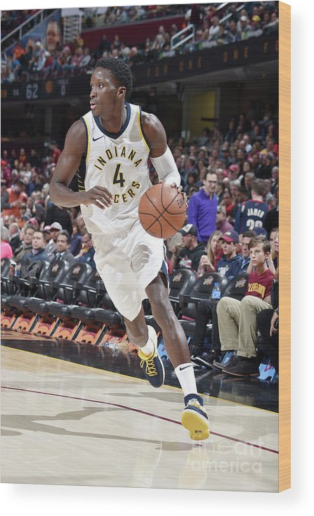 Sport Wood Print featuring the photograph Victor Oladipo by David Liam Kyle