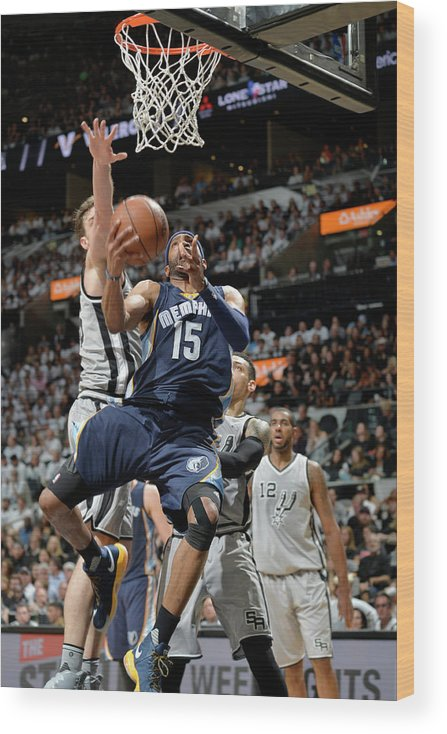 Playoffs Wood Print featuring the photograph Vince Carter by Mark Sobhani