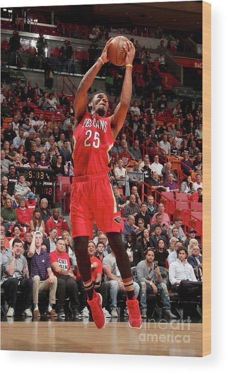 Nba Pro Basketball Wood Print featuring the photograph Wayne Selden by Issac Baldizon