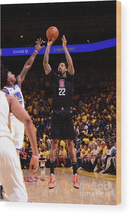 Playoffs Wood Print featuring the photograph Wilson Chandler by Noah Graham