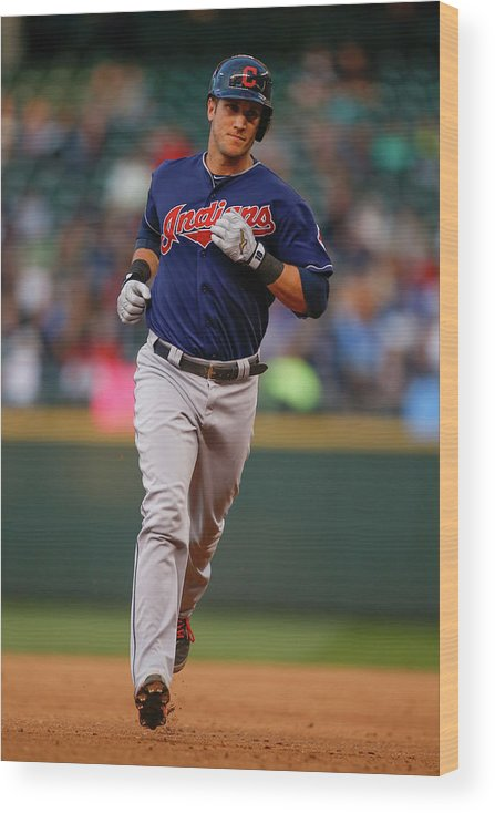 American League Baseball Wood Print featuring the photograph Yan Gomes by Otto Greule Jr