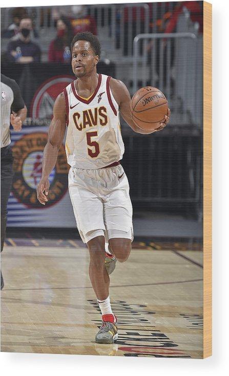 Nba Pro Basketball Wood Print featuring the photograph Yogi Ferrell by David Liam Kyle