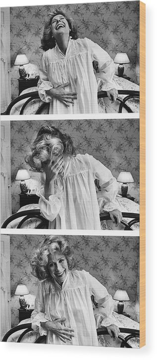 Event Wood Print featuring the photograph Actress Joan Hackett Portrait Session by George Rose