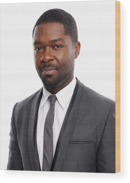 David Oyelowo Wood Print featuring the photograph 19th Annual Critics Choice Movie Awards by Dimitrios Kambouris