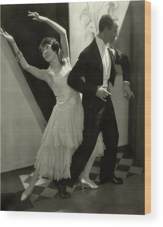 Actor Wood Print featuring the photograph Dancers Fred And Adele Astaire by Edward Steichen