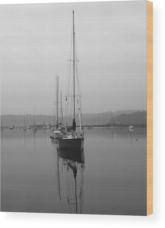 Boat Wood Print featuring the photograph Sleeping Yacht by Arthur Sa