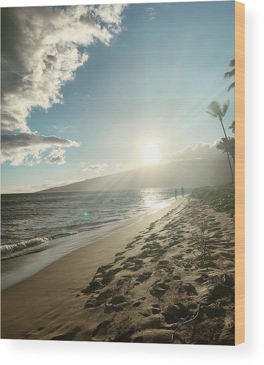 Hawaii Wood Print featuring the photograph Maui by Kristin Rogers