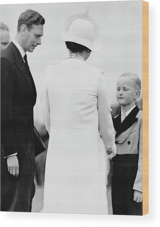 Child Wood Print featuring the photograph Queens White Wardrobe by Keystone