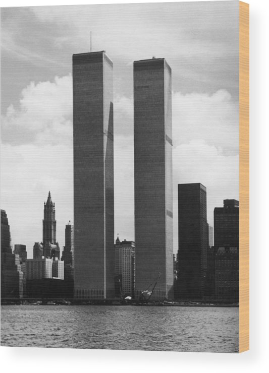 Twin Towers Wood Print featuring the photograph The Twin Towers by Peter Keegan