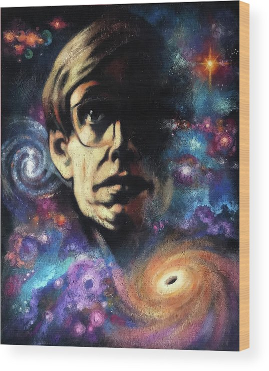 Acrylic Wood Print featuring the painting The Theory Of Remembering by Farhan Abouassali