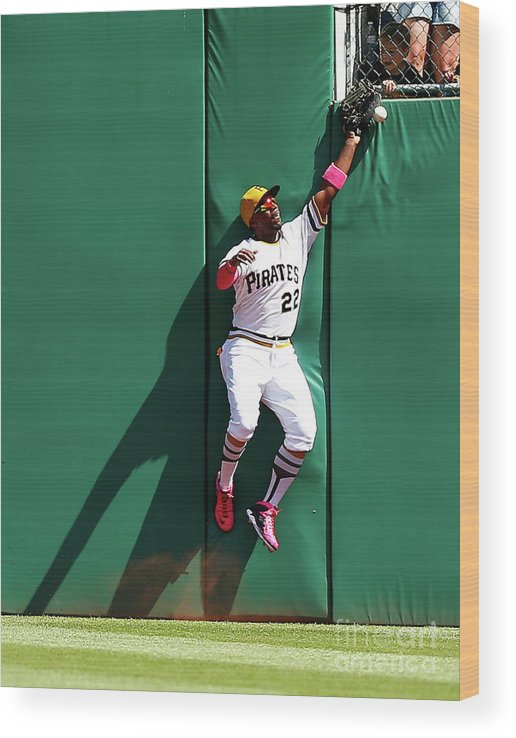 People Wood Print featuring the photograph Andrew Mccutchen by Jared Wickerham