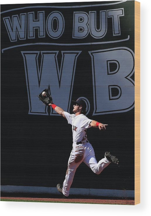 People Wood Print featuring the photograph Andrew Benintendi by Jim Rogash