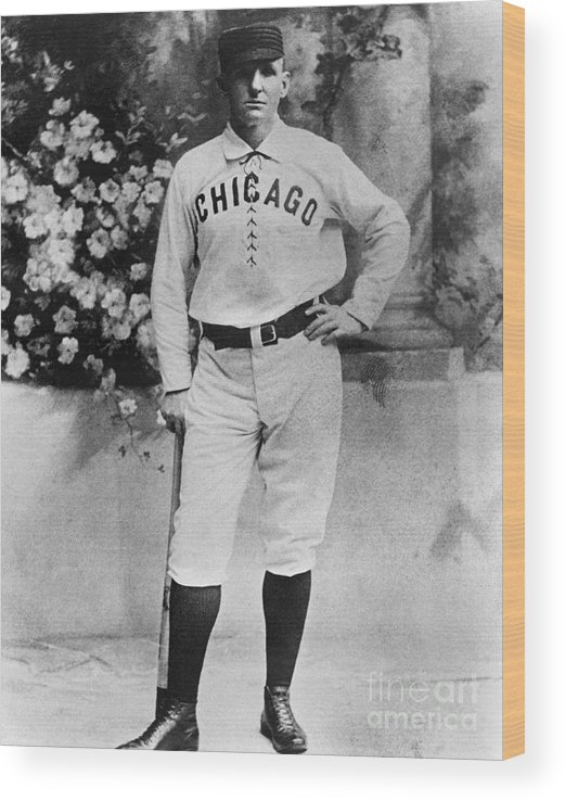Formalwear Wood Print featuring the photograph Cap Anson by National Baseball Hall Of Fame Library