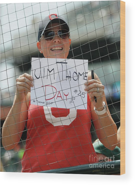 People Wood Print featuring the photograph Jim Thome by Duane Burleson
