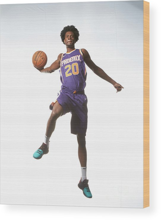 Nba Pro Basketball Wood Print featuring the photograph Josh Jackson by Nathaniel S. Butler