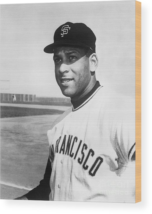 1950-1959 Wood Print featuring the photograph Orlando Cepeda by National Baseball Hall Of Fame Library