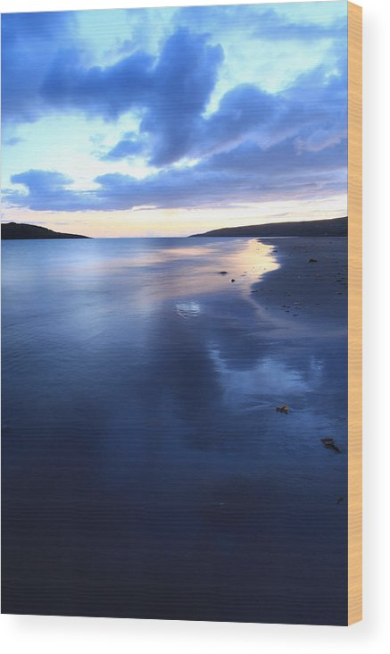 Scotland Wood Print featuring the photograph Gairloch Big Sand Beach Scotland by Ollie Taylor