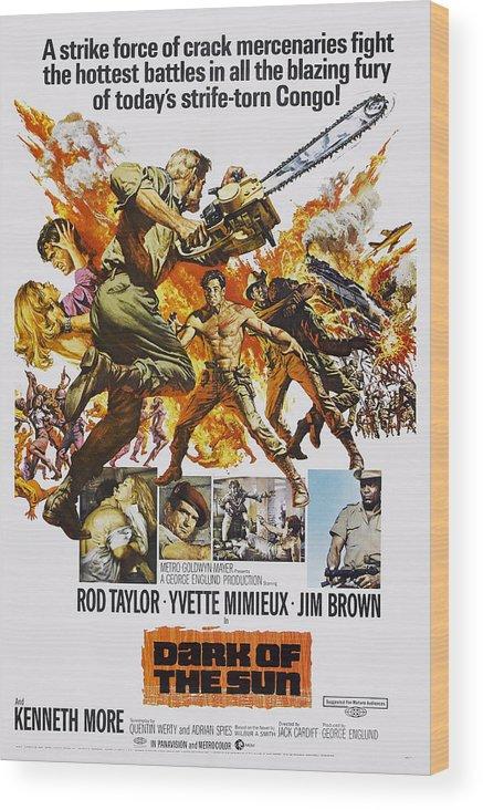 1960s Movies Wood Print featuring the photograph Dark Of The Sun, Aka The Mercenaries by Everett