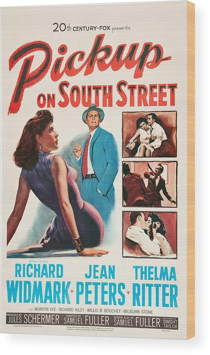1950s Poster Art Wood Print featuring the photograph Pickup On South Street, Left Side by Everett
