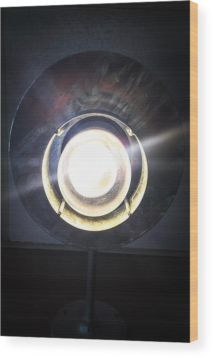 Light Wood Print featuring the photograph Let There Be Light by Kendall Tabor