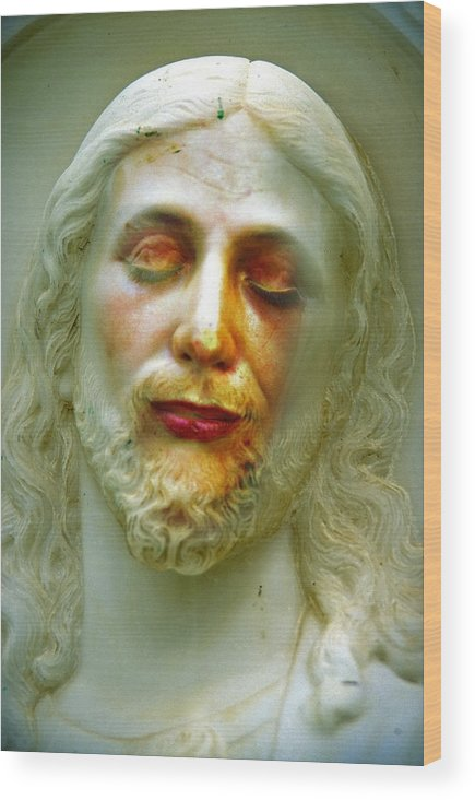 Jesus Wood Print featuring the photograph Shesus by Skip Hunt