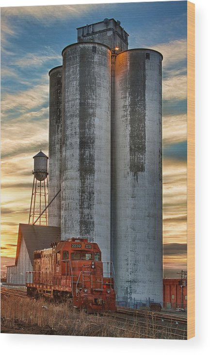 The Great Western Sugar Mill Longmont Colorado Wood Print by James ...