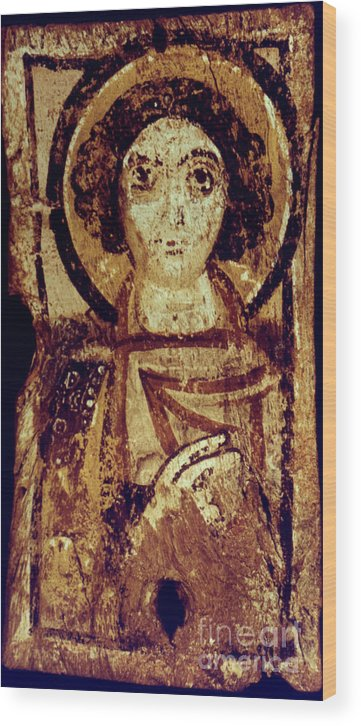 6th Century Wood Print featuring the photograph Byzantine Icon by Granger