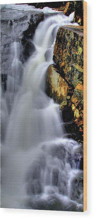 Water Wood Print featuring the photograph Weaving Air And Water by Wayne King