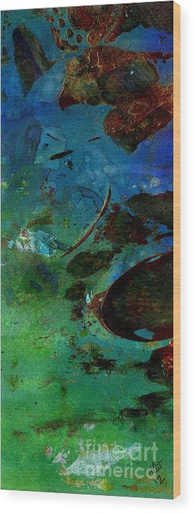 Acrylic Wood Print featuring the painting Dreaming Of My Trip To Index I by Angela L Walker