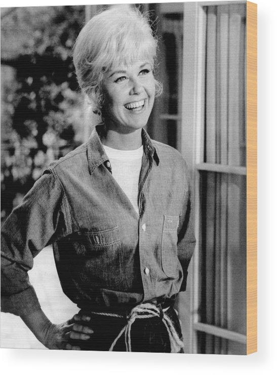 1960s Movies Wood Print featuring the photograph Move Over, Darling, Doris Day, 1963, Tm by Everett