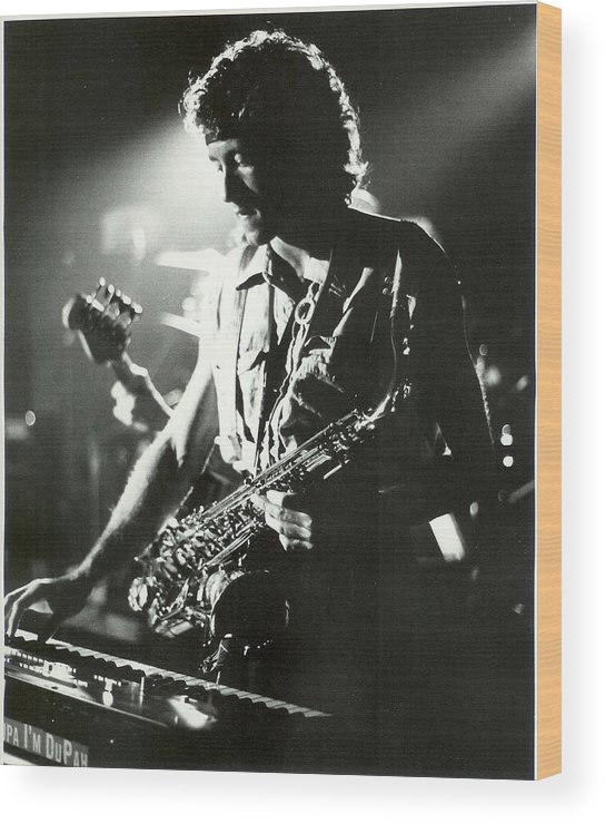 Saxophone Wood Print featuring the photograph Bobby Dupah by Brad Williams