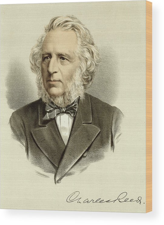 Sir Wood Print featuring the drawing Sir Charles Reed Educationalist by Mary Evans Picture Library