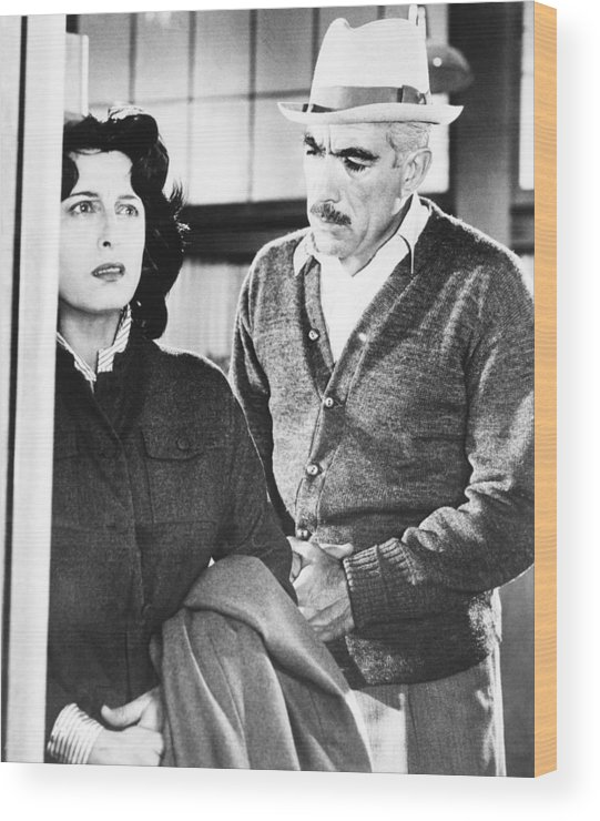 1957 Movies Wood Print featuring the photograph Wild Is The Wind, From Left Anna by Everett